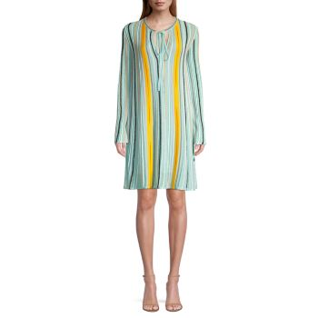 Striped Shift Dress M Missoni