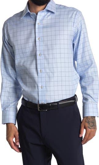 Классическая рубашка Oxford с отделкой под окна Lorenzo Uomo