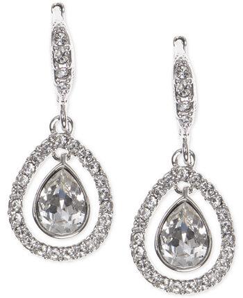Серьги-капли с орбитальными кристаллами Pavé Givenchy