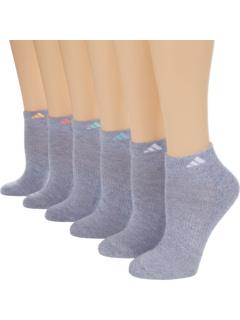 Спортивные низкие носки, 6 пар Adidas