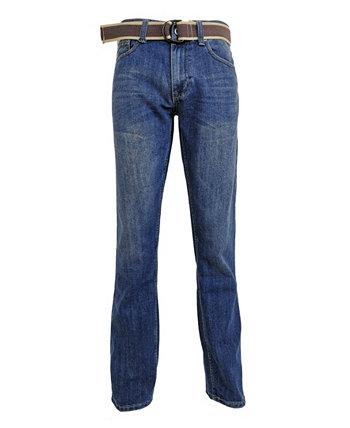Мужские модные джинсы стандартного кроя с прямыми штанинами Flypaper