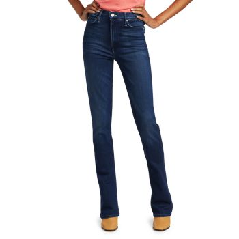 Runaway High-Rise Bootcut Jeans MOTHER