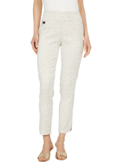 Жаккардовые брюки с леопардовым принтом Savanna 28 '' с карманами Lisette L Montreal