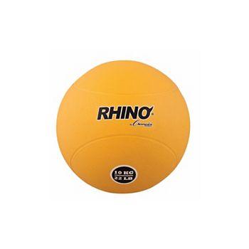Happyhealth 10 kg Rubber Medicine Ball Yellow HappyHealth