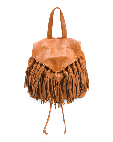 Leather Lee Backpack Day & Mood