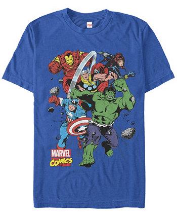 Мужская коллекция комиксов The Mighty Five с коротким рукавом Marvel