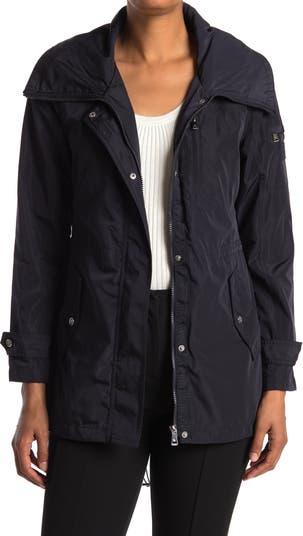 Petite Hooded Rain Anorak Jacket LAUREN Ralph Lauren
