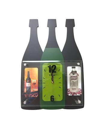 Часы с бутылками для напитков Creative Motion