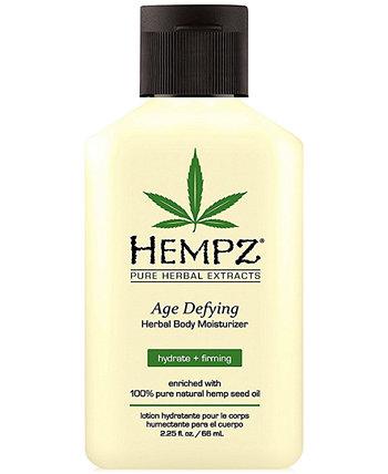 Антивозрастной увлажняющий крем для тела на травах, 2,25 унции, от PUREBEAUTY Salon & Spa Hempz