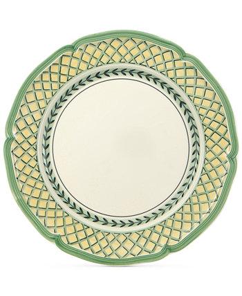 Французская обеденная тарелка с садом Villeroy & Boch