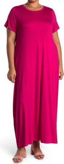 Макси-платье-футболка с круглым вырезом Spense
