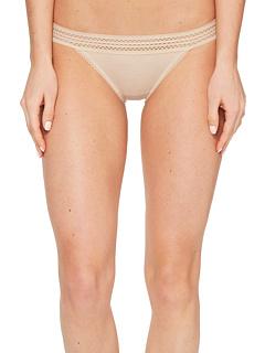 Классический хлопок бикини кружевной отделкой DKNY Intimates