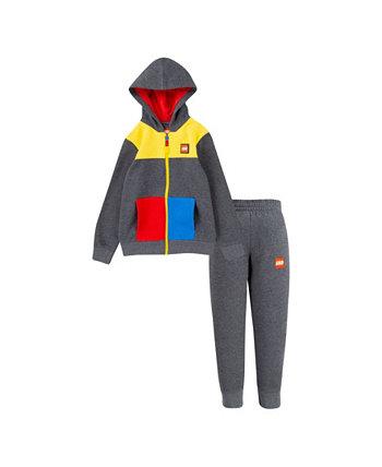Флисовый худи на молнии и джоггеры LEGO Little Boys LEGO®