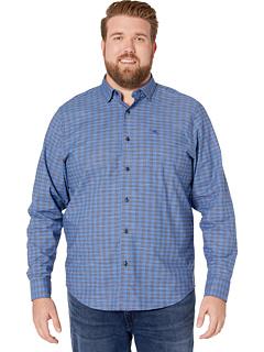 Рубашка в клетку Newport Cimarron Check IslandZone Tommy Bahama Big & Tall