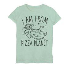 Футболка с рисунком Disney / Pixar Toy Story I Am From Pizza Planet для девочек 7–16 лет Disney / Pixar