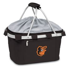 Picnic Time Baltimore Orioles Insulated Picnic Basket Picnic Time