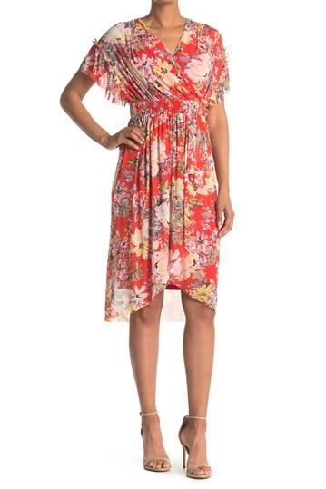 Платье из сетчатой ткани Spring Garden London Times