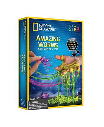 Набор химии от National Geographic Amazing Worms National Geographic