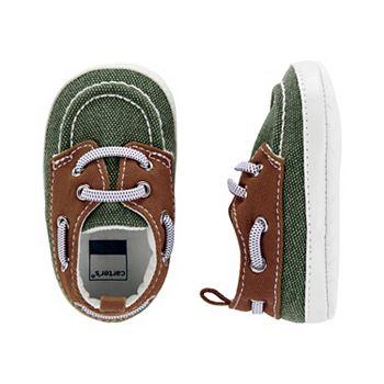 Оливковые туфли-лодочки для детской кроватки для мальчика Картера Carter's