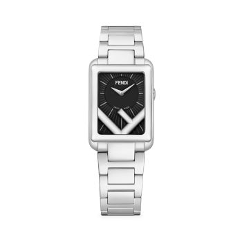 Часы Run Away из нержавеющей стали с браслетом Fendi Timepieces