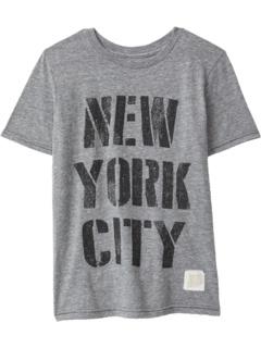 Винтажная футболка из трех смесей New York City (Big Kids) The Original Retro Brand Kids