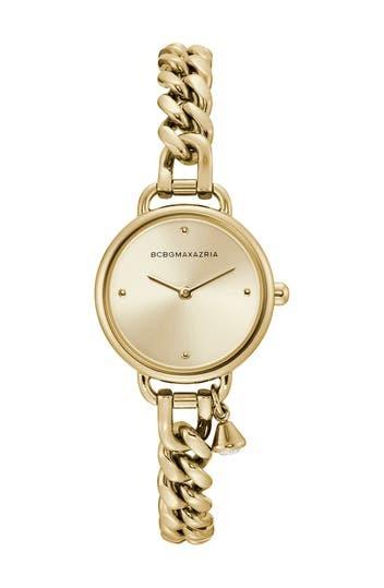Women's Curb Chain Bracelet Watch, 26mm BCBGeneration