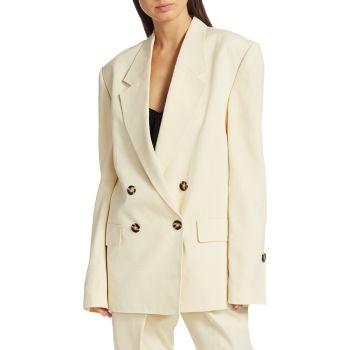Костюмный двубортный пиджак Proenza Schouler