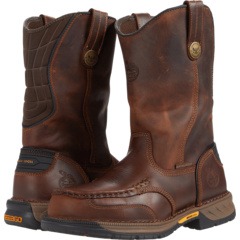 Athens360 11-дюймовый стальной носок Moc Georgia Boot