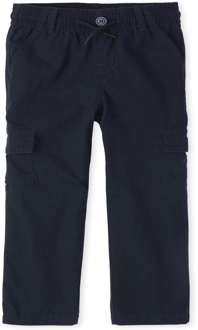 Uniform Pull-On Slim Cargo Pants (Little Kids/Big Kids) The Children's Place