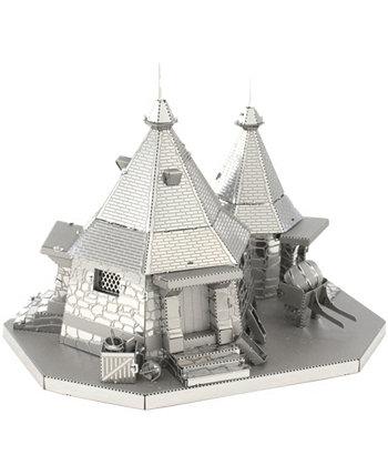 Металлическая Земля 3D Металлическая Модель Kit - Гарри Поттер Рубеус Хагрид Хижина Fascinations