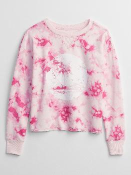 Толстовка-пуловер с детским принтом Gap Factory
