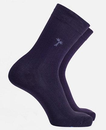 Мужская устойчивая к запаху вискоза из бамбуковых классических носков для брюк Cariloha