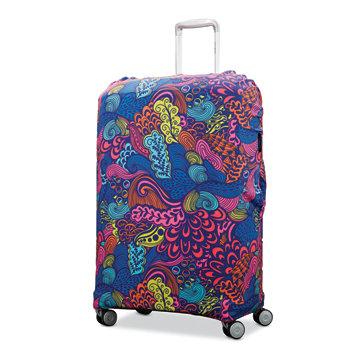 X-Large печатные чехлы для багажа Samsonite