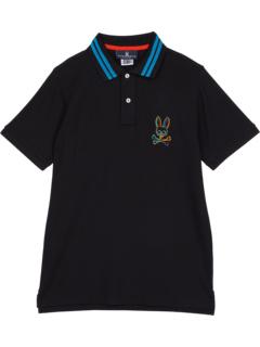 Рубашка-поло Barbon Neon Glow (для детей младшего и школьного возраста) Psycho Bunny Kids