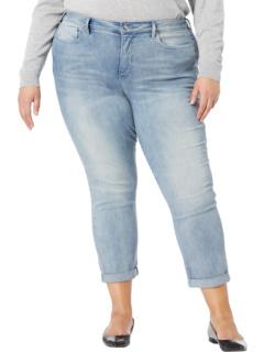 Джинсы Sheri Slim до щиколотки больших размеров с закатанными манжетами в цвете Affection Wash NYDJ Plus Size