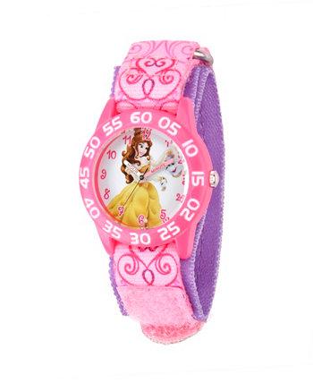 Розовые пластиковые часы для учителей Disney Belle Girls Ewatchfactory
