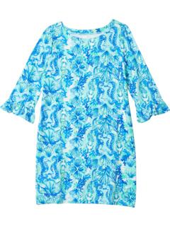 UPF 50+ Мини-платье Sophie с рюшами (для малышей / маленьких детей / больших детей) Lilly Pulitzer Kids
