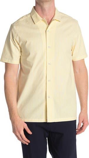 Полосатая рубашка с коротким рукавом TOPMAN