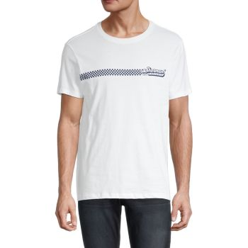 The Record Store Graphic T-Shirt Ben Sherman