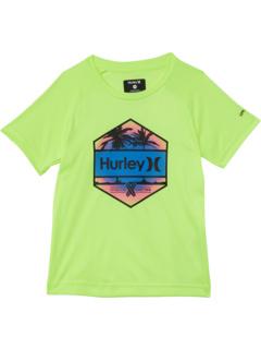 Рубашка UPC с шестигранным рисунком (для маленьких детей) Hurley Kids