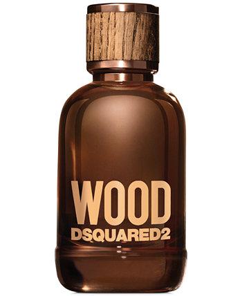 Мужская древесина для него Eau de Toilette Travel Spray, 0,3 унции. DSQUARED2