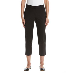 Легкие брюки из атласного твила до щиколотки Petite Rafaella