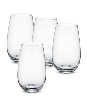 Entrée Water Tumbler or Cocktail Glass, Set of 4 Villeroy & Boch