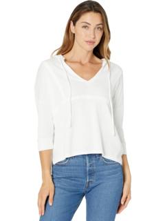 Худи-пуловер в винтажном стиле с рукавами 3/4 и швами с разрезом по бокам Chaser