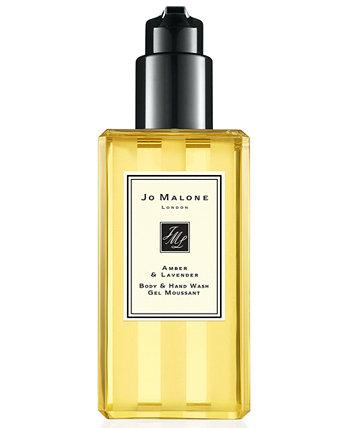 Amber & Lavender Body & Hand Wash, 8,5 унций Jo Malone London