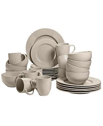 Набор посуды Linea на 32 ПК, сервиз на 8 человек Over and Back