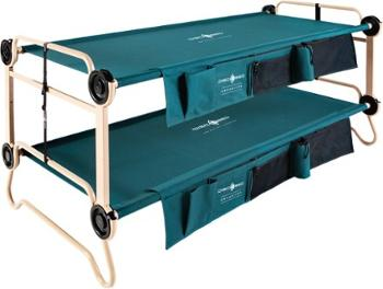 Очень большая двухъярусная кровать с органайзерами Disc-O-Bed