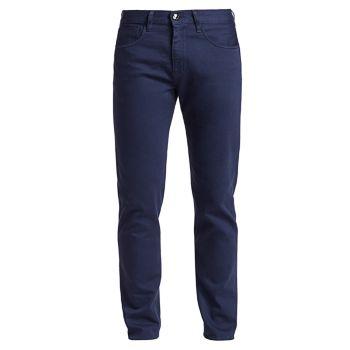 Прямые джинсы облегающего кроя Giorgio Armani