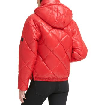 Quilted Puffer Jacket Kenneth Cole