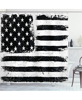 Занавеска для душа США Ambesonne